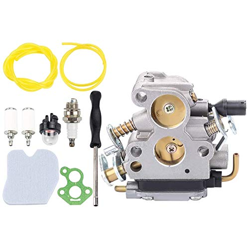 Exanko 574719402 Carburador para 235 235E 236 236E 240 240E Diente de Sierra de Cadena CS2234 CS2238 CS2234S Reemplazar con Filtro de Aire