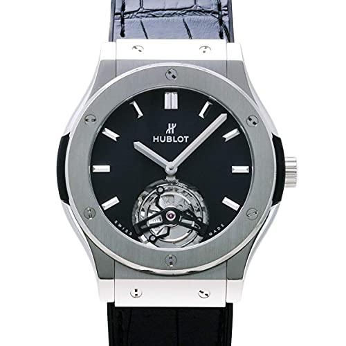 【ディスカウントストア】(ウブロ )T クラシックフュージョン トゥールビヨン 505.NX.1170.LR ブラック文字盤 腕時計 メンズ[並行輸入品]