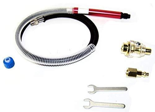 """(Best tools) Air Micro Grinder Pencil Type Micro Grinder 56,000 RPM 1/8"""" Die Grinder 60"""" Hose"""