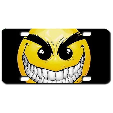Red Eyes With Attitude Mini License Plate-Bike Plate-Kid/'s Door Sign