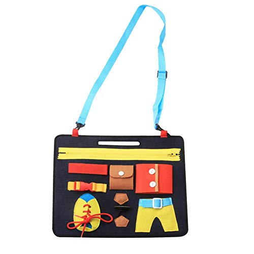 Dressing-Lernbrett, neues Dressing-Lernbrett, Kleiderschrank-Lehrset, Kinderspielzeug, Puzzle, frühkindliche Erziehung
