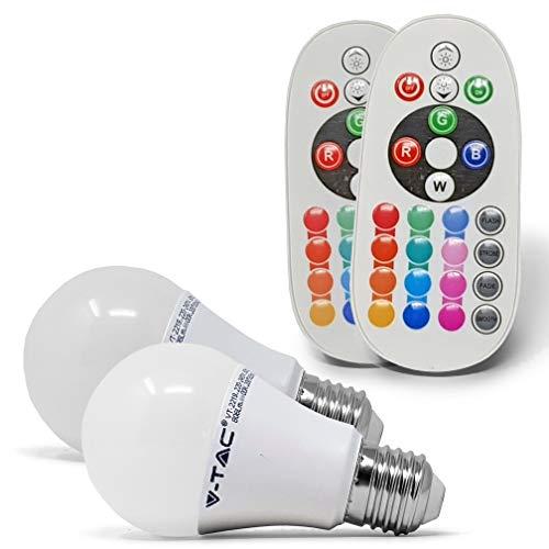 ZoneLED set, RGBW-lamp, dimbaar en kleurbesturing via RF afstandsbediening