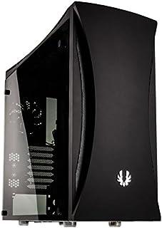 BitFenix Aurora Escritorio Negro - Caja de ordenador (Escritorio,  PC,  Acrilonitrilo butadieno estireno (ABS),  Acero,  Negro,  ATX, EATX, Micro ATX, Mini-ATX,  Multi)