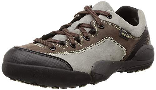 Woodland Men's Grey Leather Sneaker-5 UK (39 EU) (6 US) (GC 2871118)