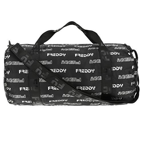 Freddy Duffle Turnbeutel aus Nylon mit texturiertem Logo-Aufdruck Einheitsgröße
