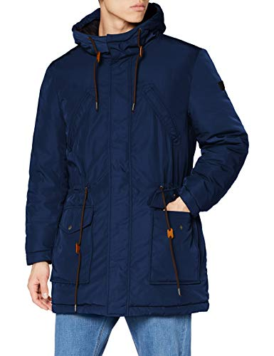 Pepe Jeans Spencer Impermeable, Azul (591), Large para Hombre