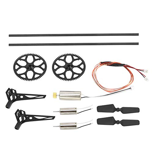 Drfeify Remote Control Helicopter Accessories Set RC Accessory Bags Upgrade Spare Part Compatible with WL V911S
