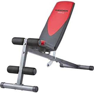 Weider Pro 225 L Bench Durable Construction
