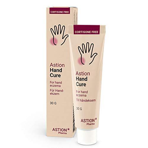 Astion Pharma Neurodermitis Creme | Schuppenflechte Salbe für die Hände | Hand Ekzem | Kortisonfreie, Juckreizlindernde Behandlung die das natürliche Schutzschild der Haut wiederherstellt 30g