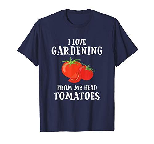 Vegetable Gardener Gift Tshirt Gardening Funny Pun Tomatoes T-Shirt