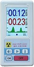 Detector de radiación nuclear de contador Geiger, probador de rayos X de rayos gamma beta, detector radiactivo, medidor de mármol de dosímetro personal medidor dosímetro portátil