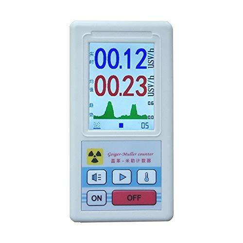 Contatore di Geiger Contatore di radiazioni nucleari, tester di raggi X beta gamma, rivelatore radioattivo, dosimetro personale Rivelatore di marmo Misuratore portatile
