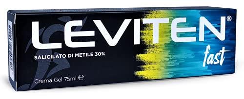 LEVITEN FAST Crema gel Pre Sport attivante riscaldante e lenitiva - tubo 75 ml, FT75