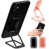 2 Pieces Ring Phone Stand Adjustable Phone Stand Foldable Ring Holder Bracket 360° Rotation Ring Phone Holder for Desk and Magnetic Car Mount and Most Smartphones Back Case