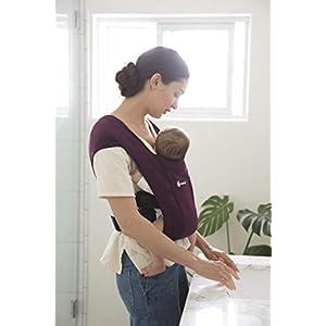 41sScaAAoAL. SS300  - Ergobaby Embrace Mochila Portabebe Ergonomica Recién Nacidos, Extra Suave y Ultraligero, Blush Pink