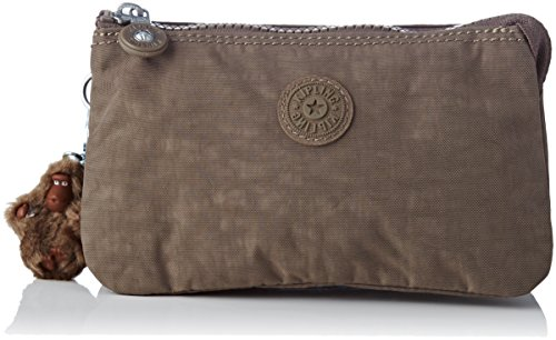 Kipling Creativity L, Portamonete Donna, Marrone (True Beige), 18.5x11x5 cm