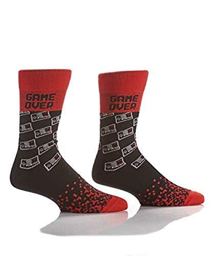 Yo-Sox Funky calcetines de calidad divertidos, cómodos para vestir o para uso informal, videojuegos, 7-12