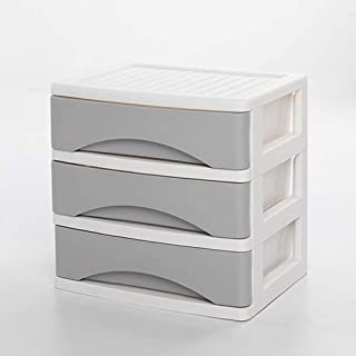 WeZest Creative multifunctional storage box File Storage Rack Large Capacity Plastic Clutter Multiple Compartments Bookshe...