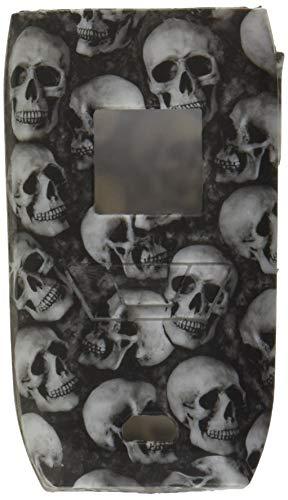 DSC-Mart Anti-Slip Silicone Case for Vaporesso Revenger 220W, Skin Cover Sleeve Wrap Gel Fits Revenger Starter Kit (black skull)