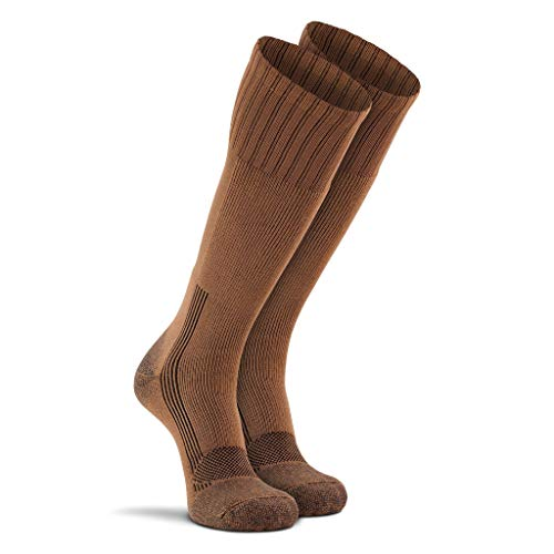 Fox River Military Wick Dry Maximum Mid Calf Boot Sock (Med/Coyote Brown)