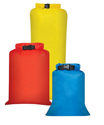 Outdoor Products 3-Pack All Purpose Dry Sack, One Size, Assorted