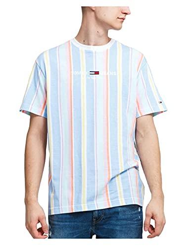 Tommy Hilfiger Jeans Tjm Stripe 1 Tee Camiseta Hombre DM0DM11514 C1T Light...