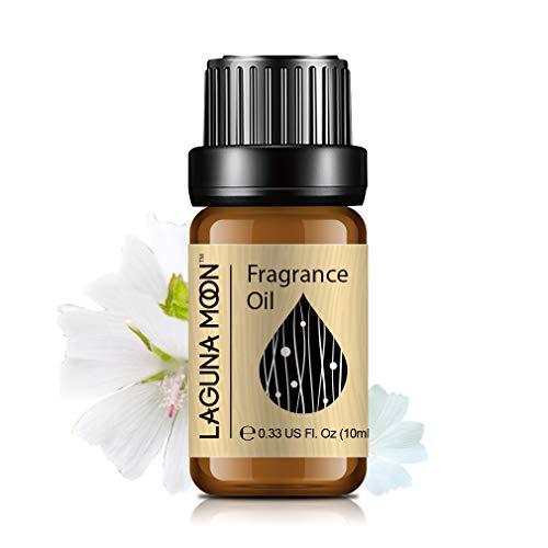 Lagunamoon Olio profumato, Olio Essenziale per Umidificatore, Olio Fragrante per Aromaterapia 10 ml - Muschio bianco