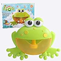 ドロップシッピングバブルマシンカニカエルの音楽子供のおもちゃのバスタブ石鹸自動バブルメーカーベビーバスおもちゃの子供のための