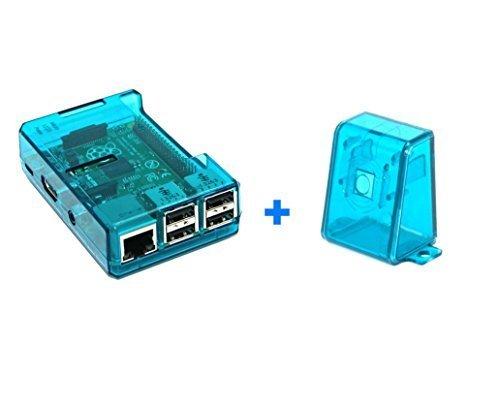 Blauer Kasten für Raspberry Pi Model B 2 (B +) mit Blue Camera Case
