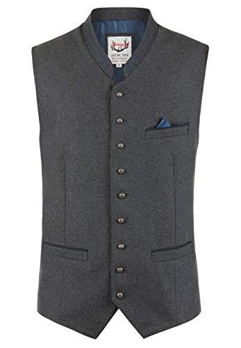 Stockerpoint Herren Lucio Business-Anzug Weste, Schiefer-blau, 58