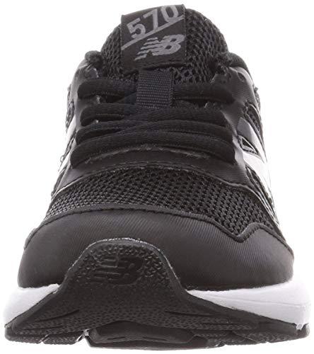 [ニューバランス]キッズシューズYK570ランニングシューズ紐タイプBK(BLACK)17cm