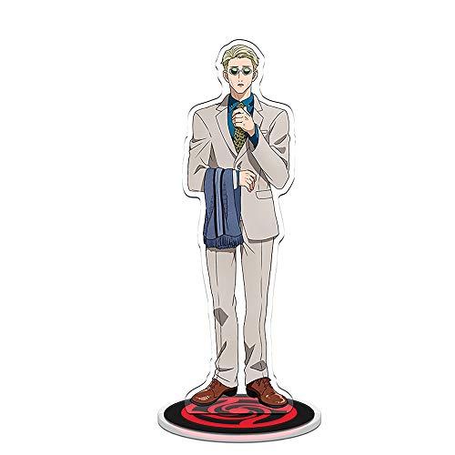 Kento Nanami Anime Jujutsu-Kaisen Figura in piedi acrilica Supporto trasparente su due lati Figura in miniatura Action Figure Decorazione da scrivania