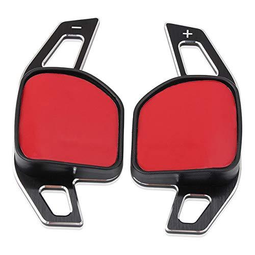 JXSMBP Auto Lenkrad DSG Paddle Extension Shifters Shift Aufkleber Dekoration.Für Audi A3 S3 A4 S4 A5 A6 S6 A8 R8 Q5 Q7 RS