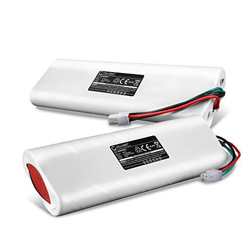 CELLONIC 2X Batería Premium 18V, 3Ah, NiMH Compatible con Husqvarna Automower 220 AC, 230 ACX, Solar Hybrid, 210 C, 260 ACX, G2 bateria de Repuesto 535 12 09-02 Pila