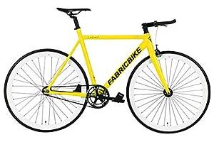 """FabricBike Light - Fixed Gear Fahrrad, Single Speed Fixie Starre Nabe, Aluminium Rahmen und Gabel, Räder 28"""", 4 Farben, 3 Größen, 9.45 kg (Größe M)"""