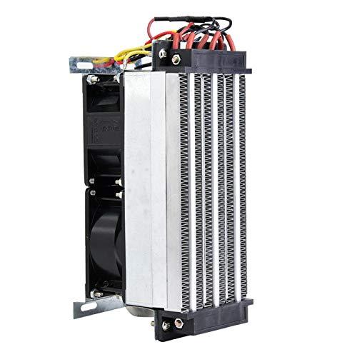 Calefactor de aire con elemento cerámico aislado de cerámica PTC y tubo de aluminio para instrumentos pequeños, espacio (220V 700W)