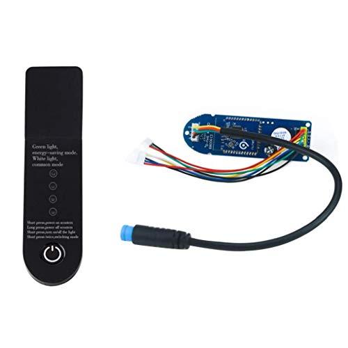 Hiinice Placa de Circuito Bluetooth Tableros para Xiaomi M365 Scooter eléctrico Scooter Pieza de Recambio Módulo Pájaro Parte del Panel Negro