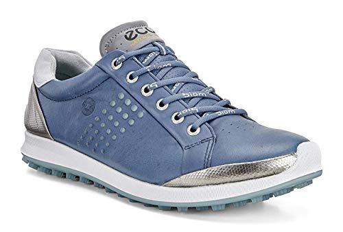 Ecco ECCO Herren Men's Golf Biom HYBRID 2 Golfschuhe, Blau (50435DENIM Blue/Aquatic), 42 EU