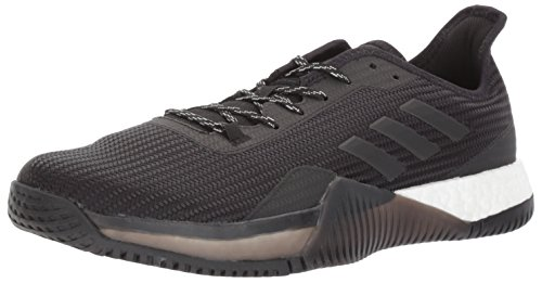 adidas Men's Crazytrain Elite M Cross Trainer, Black/Night Metallic/Black, 10 Medium US