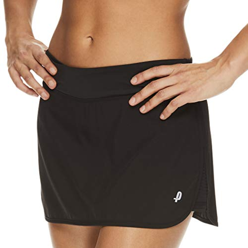 Penn Women's Spike Athletic Mini Skort for Performance Training Tennis Golf & Running - Spike Black, Large