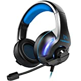 YINSAN Gaming Headset, Xbox One Headset, PS4 Headset Surround Stereo Gaming Headphones