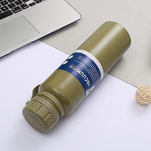 FGJFG Boquilla Para Beber Fácilmente-Resistente a Manchas y Olores/Caldera de aislamiento deportivo al vacío-green_650ml/Libre de BPA,ftalatos,plomo o cadmio