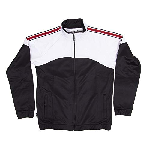 Chabos Herren Trainingsjacke bnw, Größe:S, Farbe:Black