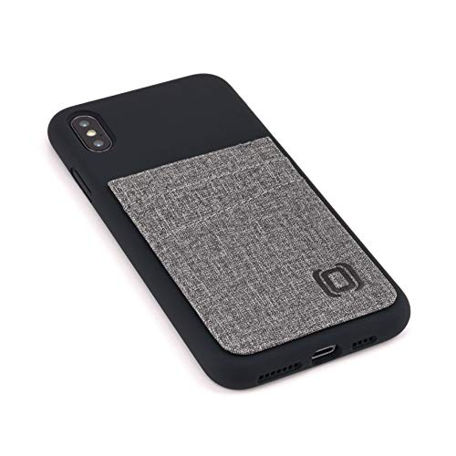 Dockem M2L Étui portefeuille en silicone liquide pour iPhone Xs ...
