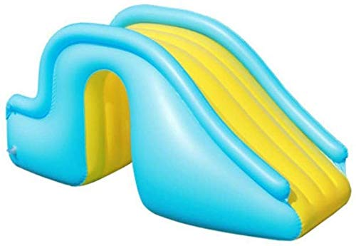AULLY PARK Tobogán hinchable para niños, escalones más anchos, portátil, accesorios de piscina, sistema de juegos de agua para niños