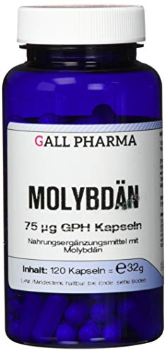 Gall Pharma Molybdän 75 µg GPH Kapseln 120 Stück