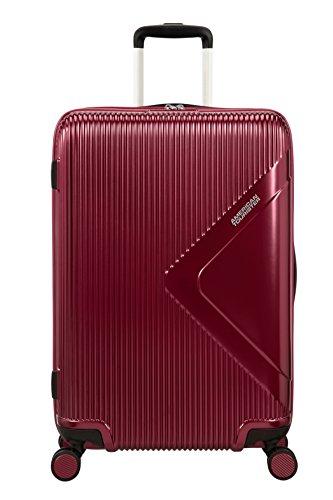 American Tourister Modern Dream - Spinner M Expandible Maleta, 68.5 cm, 81 L, Rojo (Wine Red)