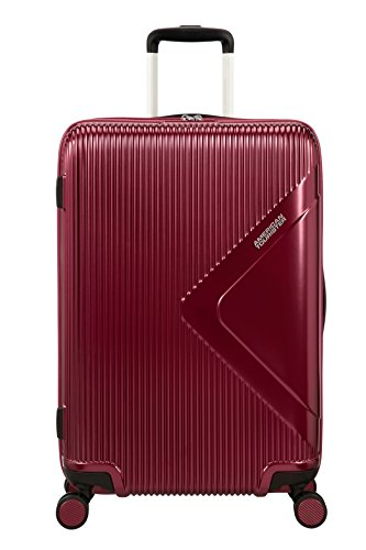 American Tourister Modern Dream Spinner Erweiterbar Koffer, 68,5 cm, 81 L, rot (wine red)