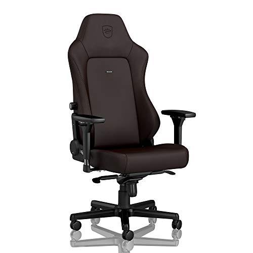noblechairs Hero Gaming Stuhl - Bürostuhl - Schreibtischstuhl - Hybrid-Kunstleder - Inklusive Kissen - Java Edition