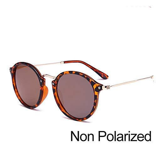 ERIOG Gafas de Sol Llegada Gafas De Sol Redondas con Revestimiento Retro Hombres Mujeres Gafas De Sol De Diseñador Gafas Espejadas Vintage